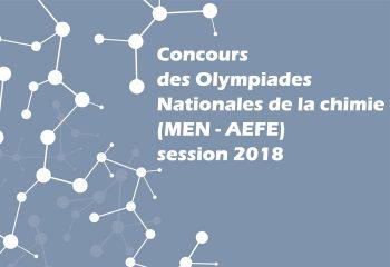Concours des Olympiades Nationales de la chimie
