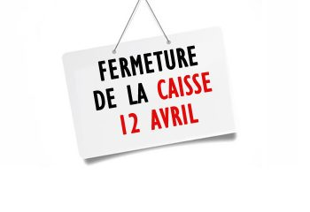 caisse 12 avril